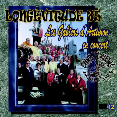 Cd cover LONGÉVITUDE 35 VOL.12