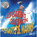 Couverture CHANTS DE MARINS CD 11