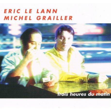 TROIS HEURES DU MATIN - Eric LE LANN - Jaquette