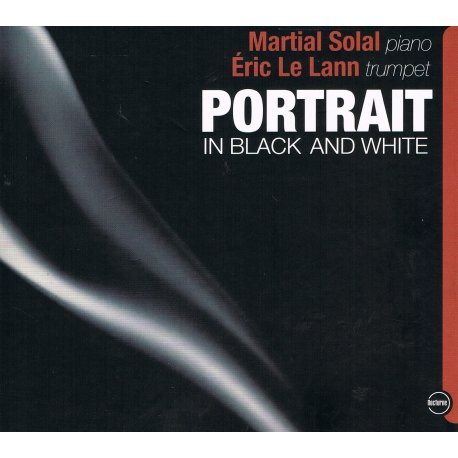 PORTRAIT IN BLACK AND WHITE - Eric LE LANN - CD cover