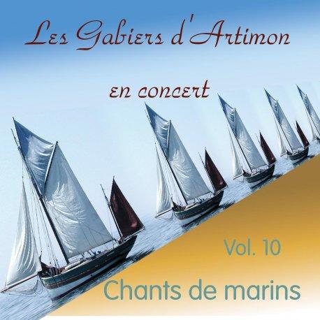 Cd cover CHANTS DE MARINS EN CONCERT CD 10